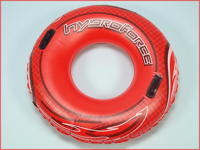Bouee gonflable adulte bestway hydro force red 102cm 94860 for Bestway piscine service com